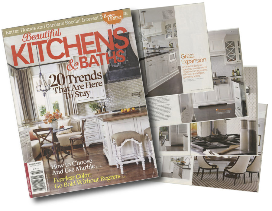 Margali & Flynn as seen in Better Homes & Garden magazine.